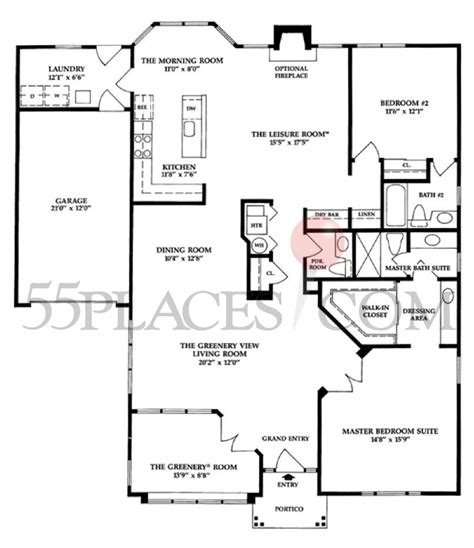 leisure village floor plans victoria floorplan 2013 sq ft leisure village west
