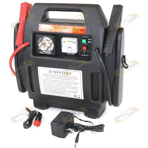 cars battery booster jump starter jumpstarter  psi air compressor light