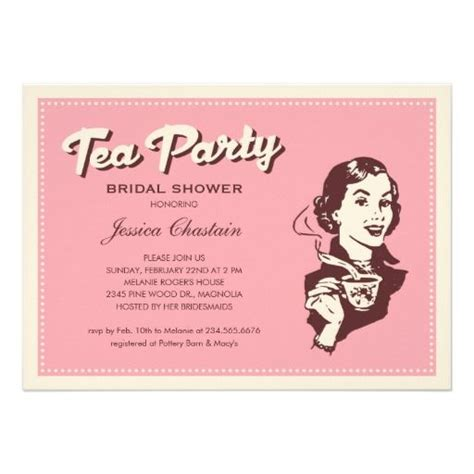 Tea Shower Invitations by 53 Best Invitations For Tea Images On