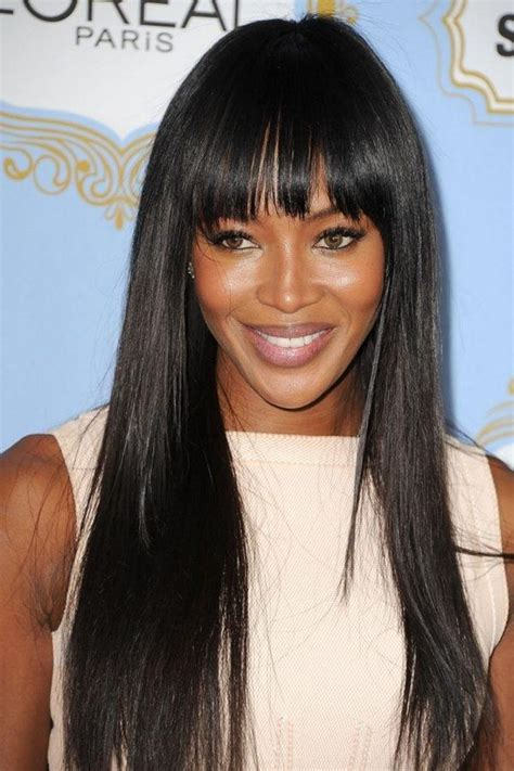 naomi cbell hairstyle bangs pictures naomi cbell human hair wig hairturners