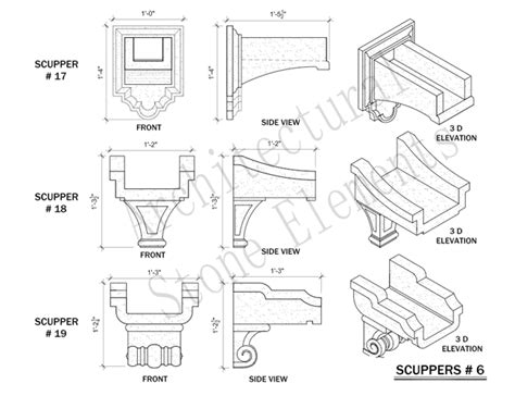 Home Design 85032 by Scuppers Portfolio Architectural Stone Elements