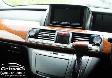honda elysion pioneer radio navigation system install