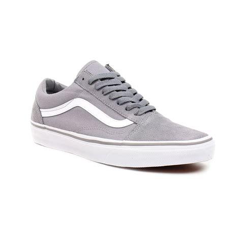 vans shoes skool grey true white ebay