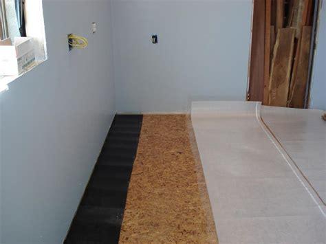 Best Subfloor For Laminate Flooring by Workshop Makeover Kyserike Kraftsman