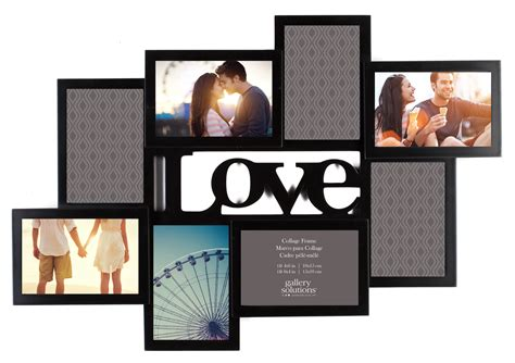 collage frame gallery solutions quot quot cutout 8 opening collage frame