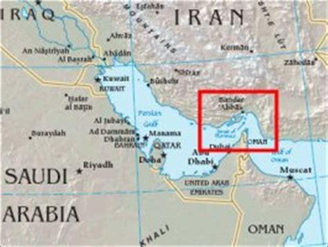 middle east map strait of hormuz hormuz strait middle east confidential