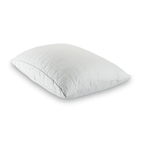 comfort solutions pillow down alternative pillow customizable comfort from sears