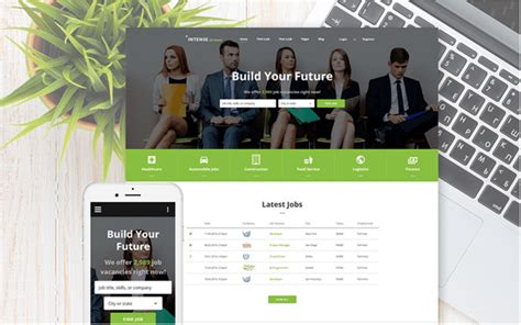Top 15 Best Html 5 Plus Javascript Website Templates For Business And Finance Zilliontips Board Website Template