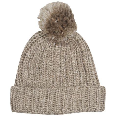 bobble knit hat s cable knit bobble hat clothing zavvi