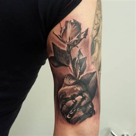 tricep tattoo bleeding with best ideas gallery