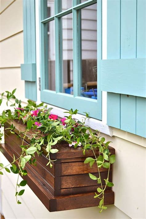 hanging window flower boxes 54 brilliant front yard landscaping ideas that