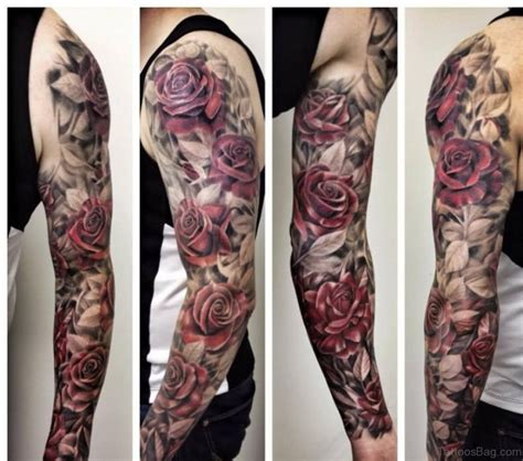 mens floral tattoo designs 100 best sleeve tattoos for