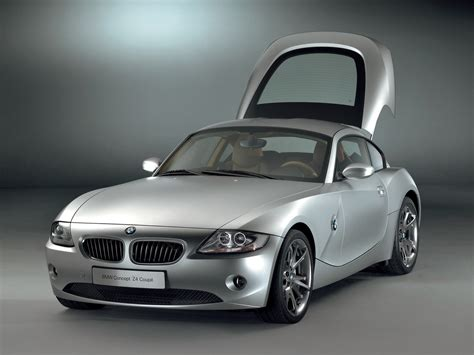 bmw  coupe concept front angle open hatch