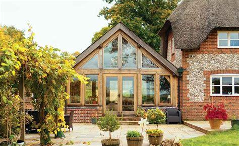 Cedar Sunroom How To Add An Oak Frame Extension Period Living