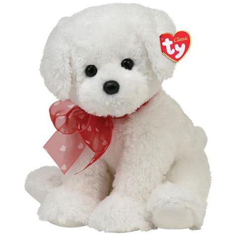 ty puppy stuffedanimals stuffed plush dogs ty classic 13 quot stuffed plush sweetpea