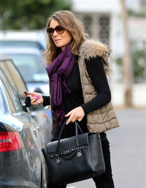 Liz Hurley In Brittish In Style by Elizabeth Hurley Style February 2014
