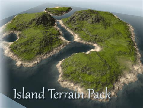 unity tutorial island island terrain pack asset store