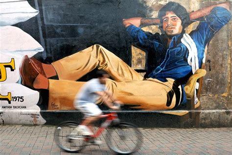 lukisan cantik mural  jalanan