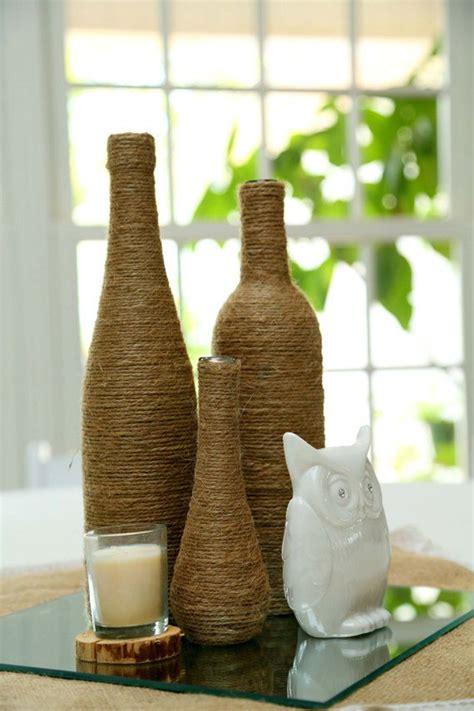 creative diy wine bottle decor homemydesign