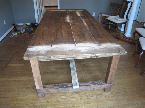 How To Make Dining Table Dining Table Rustic Dining Table Diy