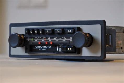 cassette car radio grundig wkc3022 classic car radio with cassette player