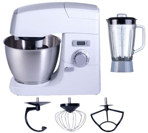 Blender New Vivo x5 professional vivo die cast metal food stand mixer