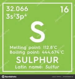 lo zolfo zolfo altri elementi non metallici elemento
