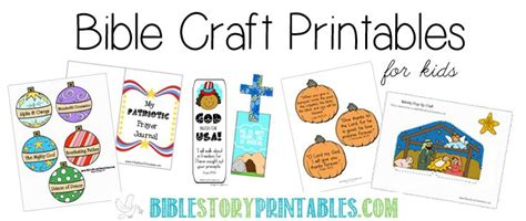 7 best images of free printable vbs crafts free printable bible crafts sunday school crafts pinterest