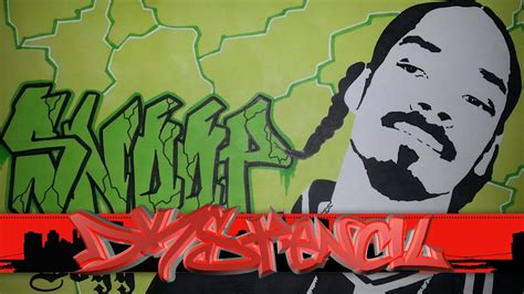 snoop dogg graffiti letters stencil snoop dogg aka
