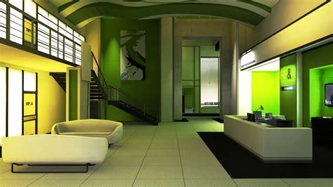 Interior Design Tips for Green Wallpaper   Interior