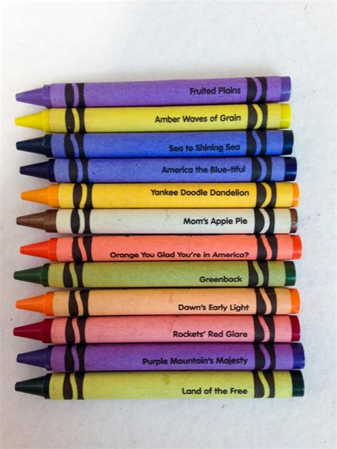crayon color names state crayon collection what s inside the box s