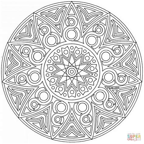 mandala coloring page celtic mandala coloring page free printable coloring pages