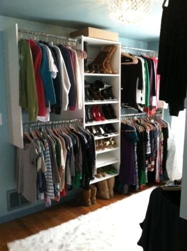 convert walk in closet to bedroom small nightstand under cool bed small rooms walk in closet and classic white on pinterest