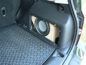 Jeep Patriot Speaker Size My Stereo Upgrade Now With Pics Jeep Patriot Forums