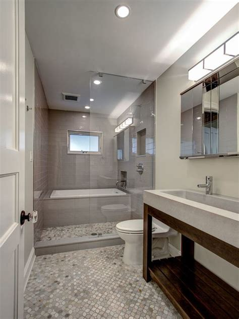 how long to remodel bathroom long narrow bathroom houzz