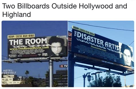 the room billboard the disaster artist a24