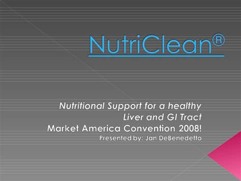Transitions Lifestyle System Detox by Nutri Clean Liver Colon Cleanse