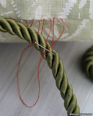 pillow edging crafts tutorials how to s