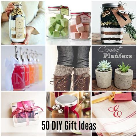Best Handmade Gift Ideas - 50 of the best diy gift ideas diy craft projects
