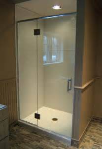 Shower Door Header Frameless Shower Doors With Headers