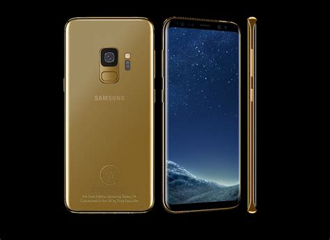 luxury gold plated samsung galaxy   super expensive