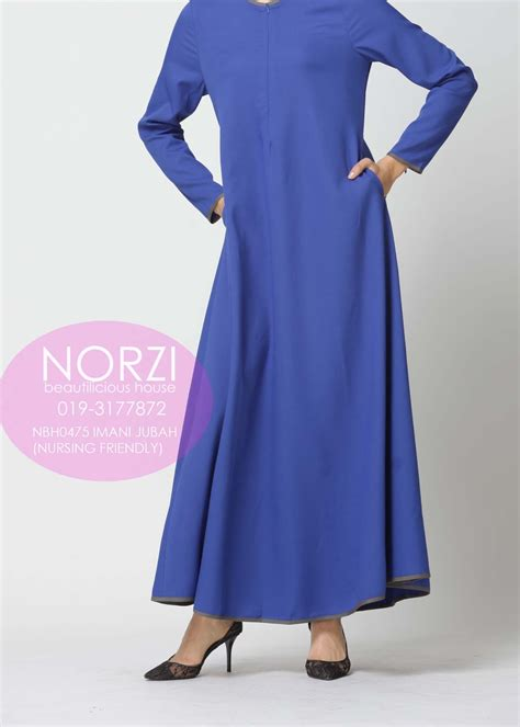 Dahia Dress Maxi Kaftan Gamis Wanita Fit To norzi beautilicious house nbh0475 imani jubah nursing friendly