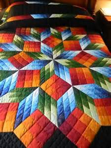 lancaster county amish handmade rubic cube quilt 299