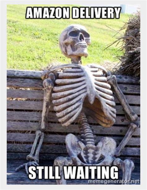 skeleton at desk meme generator hostgarcia