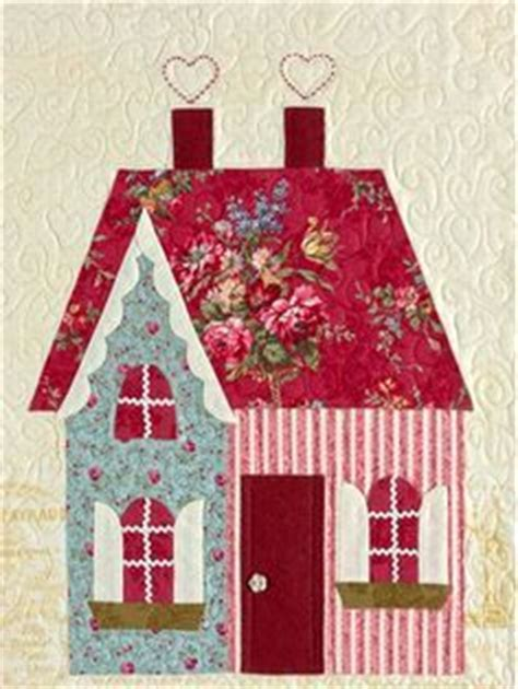 Selimut Sweetheart 5 house quilt block quilt patterns house