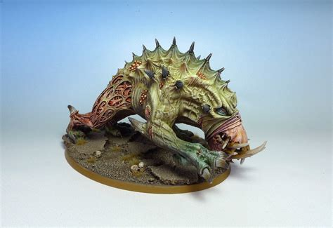 tutorial forge world giant spined chaos beast mgm painting giant spined chaos beast fantasygames com pl