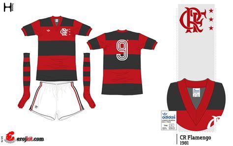 3d home kit design works kit design by eroj 1981 flamengo home e away
