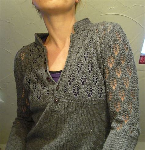 Knitting Pattern Henley Sweater | i d love to knit this in our marianne dashwood yarn