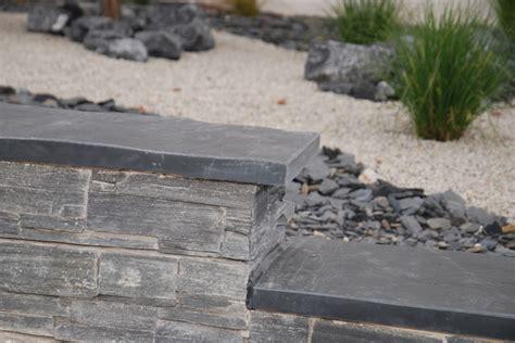 gartenmauer modern gartenmauer in basalt modern garten sonstige