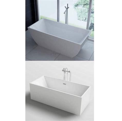 vasche da bagno centro stanza vasca da bagno rettangolare 170x80 o 179x80 freestanding